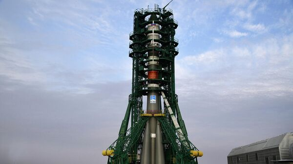 Ракета-носитель Союз-2.1а с грузовым кораблем Прогресс МС-13