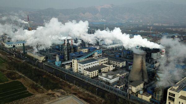 Завод по переработке угля в Хэцзине, провинция Шаньси в центральном Китае
