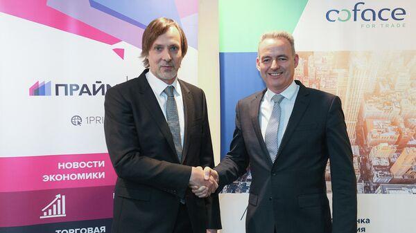 Агентство ПРАЙМ подписало договор о сотрудничестве с компанией Coface