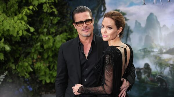 Брэд Питт и Анджелина Джоли в Лондоне