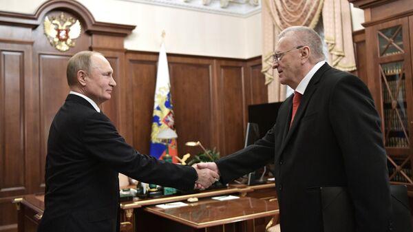 Путин обсудил с Жириновским итоги выборов в Госдуму