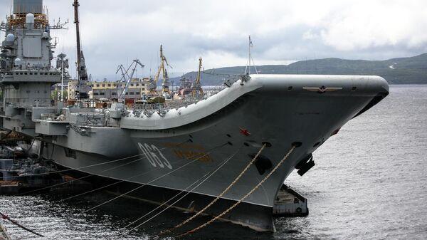 Тяжелый авианесущий крейсер Адмирал флота Советского Союза Кузнецов