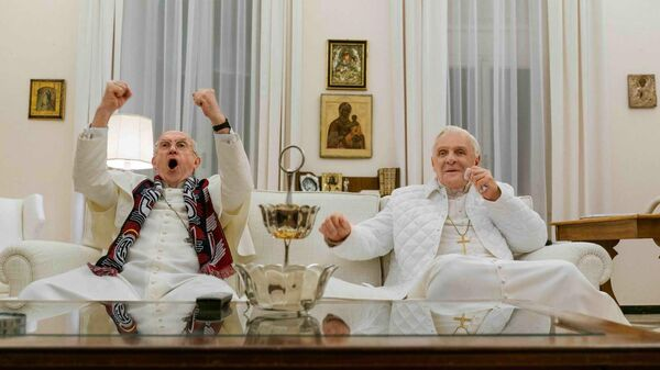 Кадр из фильма Два Папы
