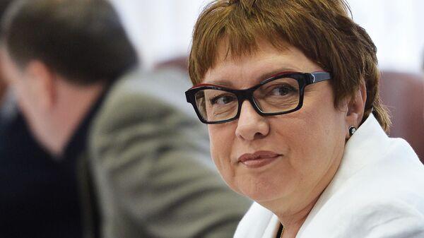 Бывший президент ФК Локомотив Ольга Смородская
