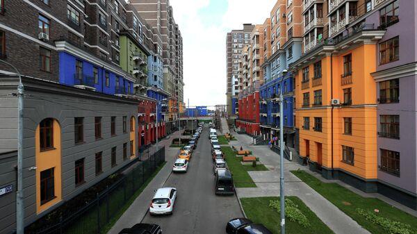 Новый жилой комплекс в Московской области