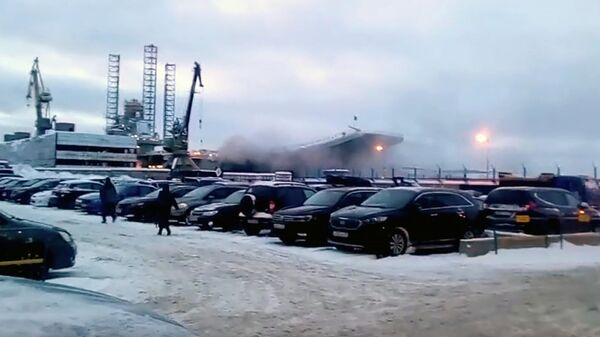 Пожар на авианосце Адмирал Кузнецов