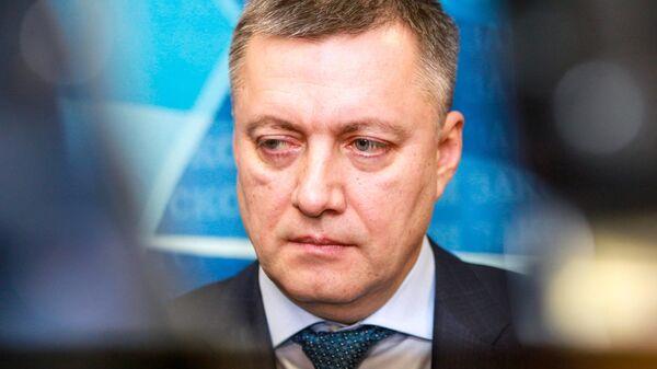 Временно исполняющий обязанности губернатора Иркутской области Игорь Кобзев
