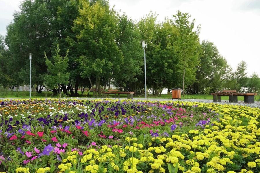 Благоустройство района Капотня в Москве