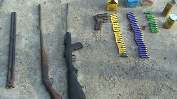 Изъятый в Приморье арсенал оружия и патронов