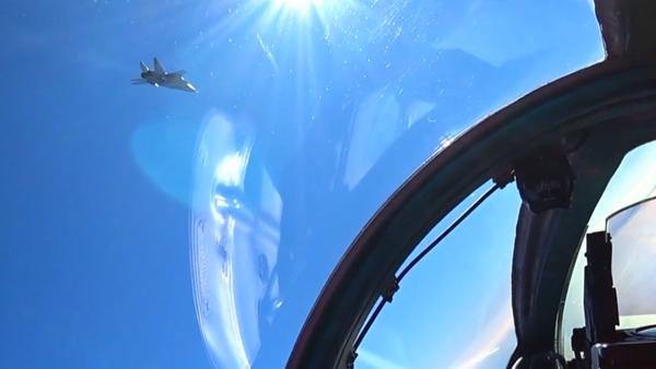 Воздушная дуэль МиГ-31БМ