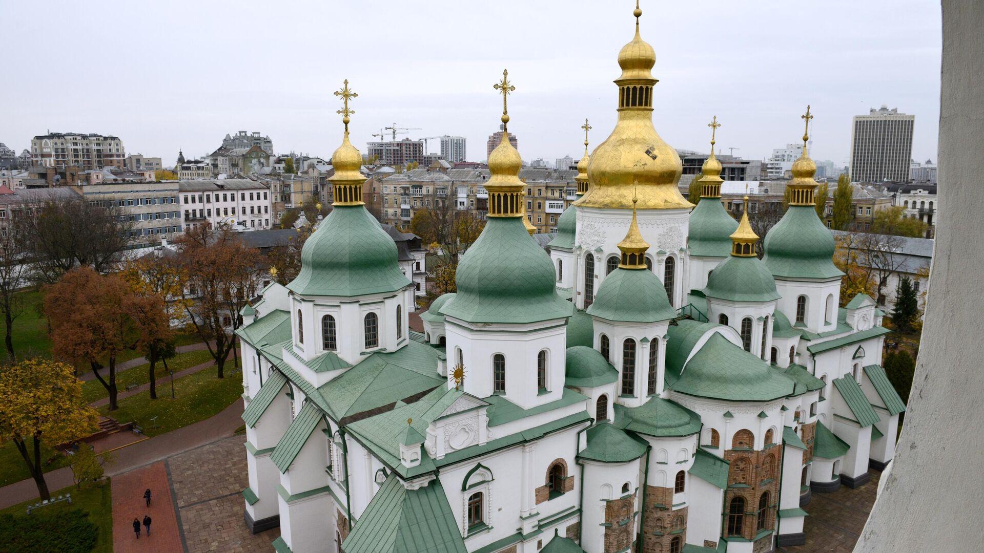 Софийский собор в Киеве - РИА Новости, 1920, 25.11.2020