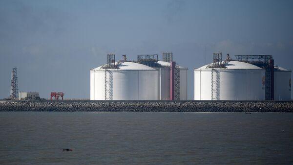 Резервуары для хранения сжиженного природного газа (СПГ) в Китае