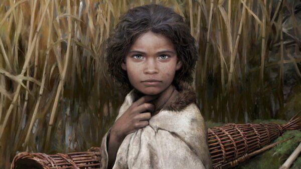 Так в представлении художника выглядела девушка, которая жила 5700 лет назад на севере Европы