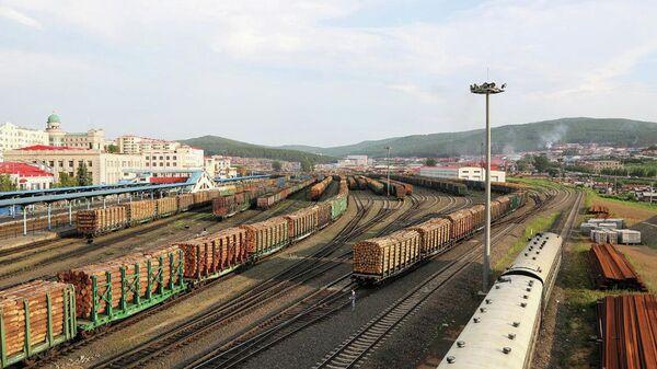 Сухопутный порт Суйфэньхэ, провинция Хэйлунцзян