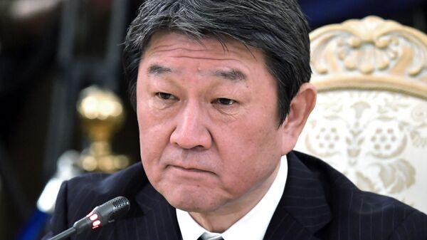 Министр иностранных дел Японии Тосимицу Мотэги