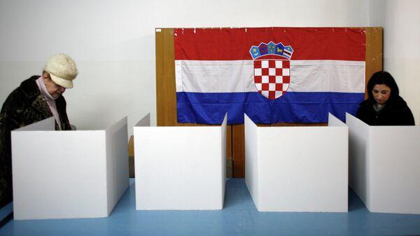 Выборы в Хорватии