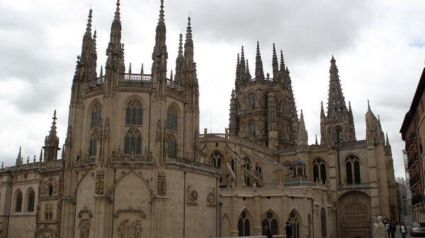 Кафедральный собор в городе Бургос