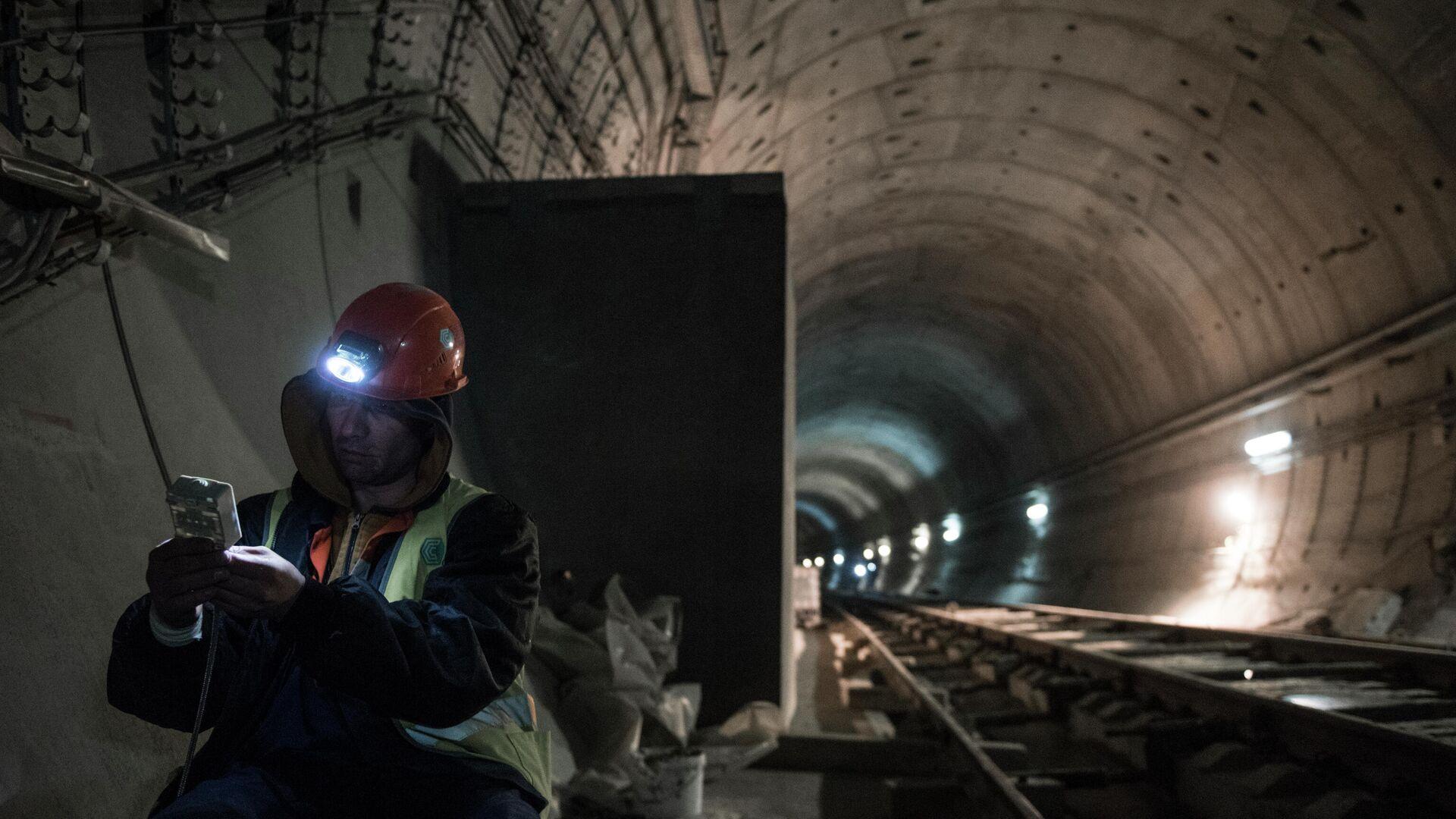 Строительство тоннеля на БАМ - РИА Новости, 1920, 05.04.2021