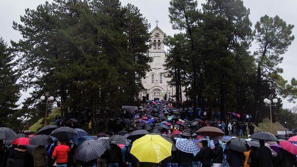 Церковно-народный сбор в Черногории