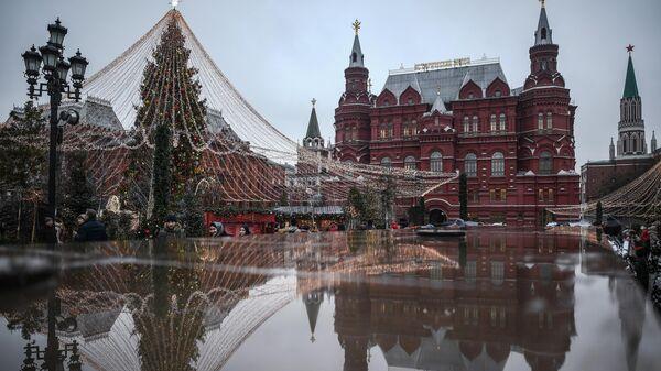 Манежна площадь в Москве