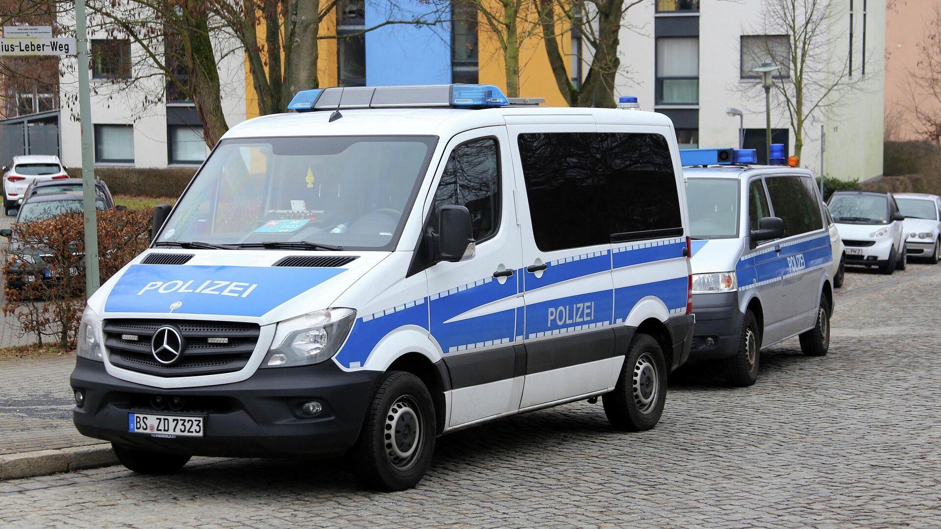 Автомобили полиции Германии - РИА Новости, 1920, 28.06.2021