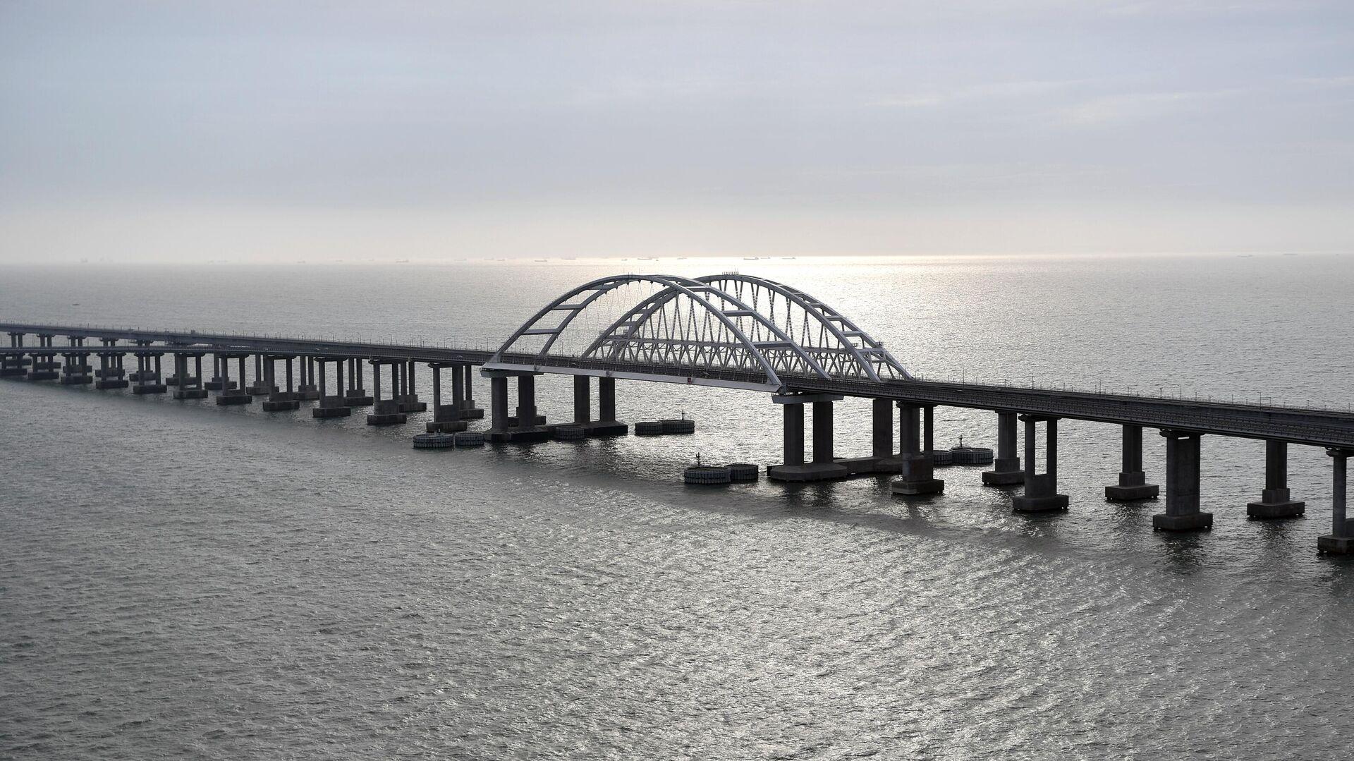 Крымский мост через Керченский пролив - РИА Новости, 1920, 30.05.2021