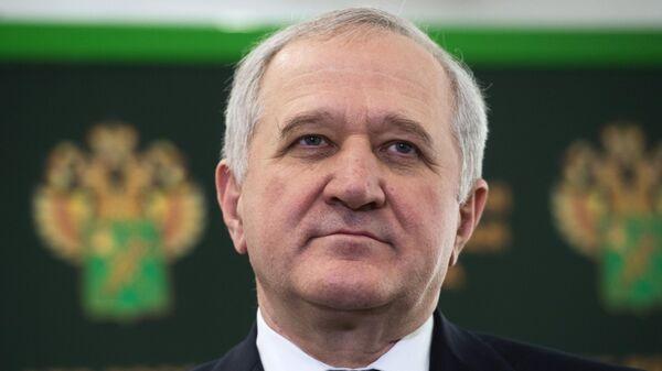 Руководитель Федеральной таможенной службы РФ Владимир Булавин