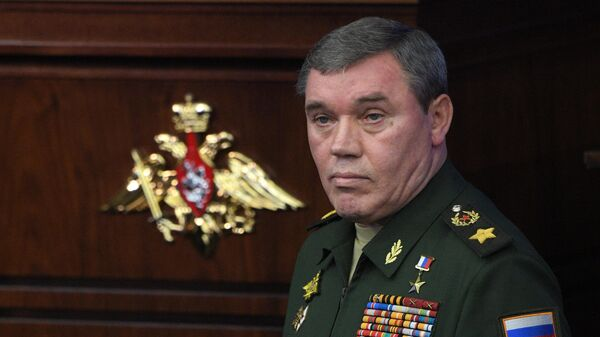 Начальник Генерального штаба Вооруженных сил - первый заместитель министра обороны России, генерал армии Валерий Герасимов