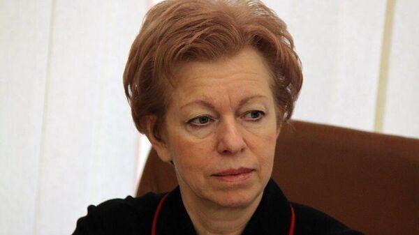Министр здравоохранения Саратовской области Наталья Мазина