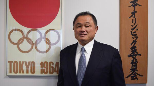 Глава НОК Японии, глава Федерации дзюдо Японии Ясухиро Ямасита