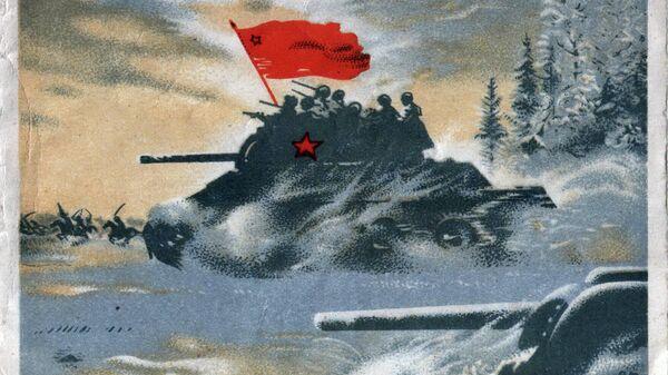 Танк Худ. Климашин Виктор Семенович. Москва, Издательство Искусство, 1941