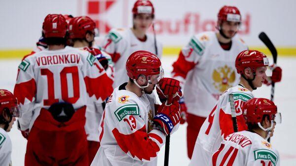 Хоккей. Молодежный чемпионат мира. Матч Чехия – Россия