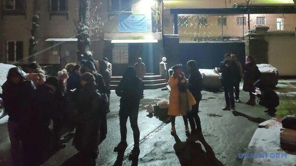 Ситуация у Лукьяновского СИЗО в Киеве, где содержатся заявленные для обмена в Донбассе трое бывших сотрудников Беркута