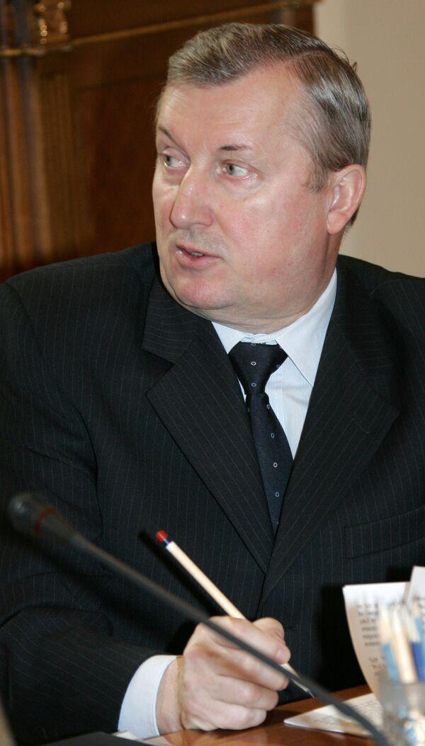 Полномочный представитель президента РФ в Уральском федеральном округе Петр Латышев
