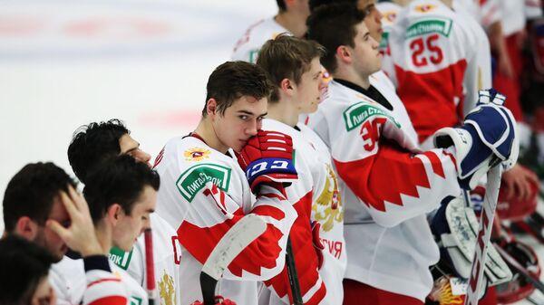 Хоккей. Молодежный чемпионат мира. Матч США – Россия