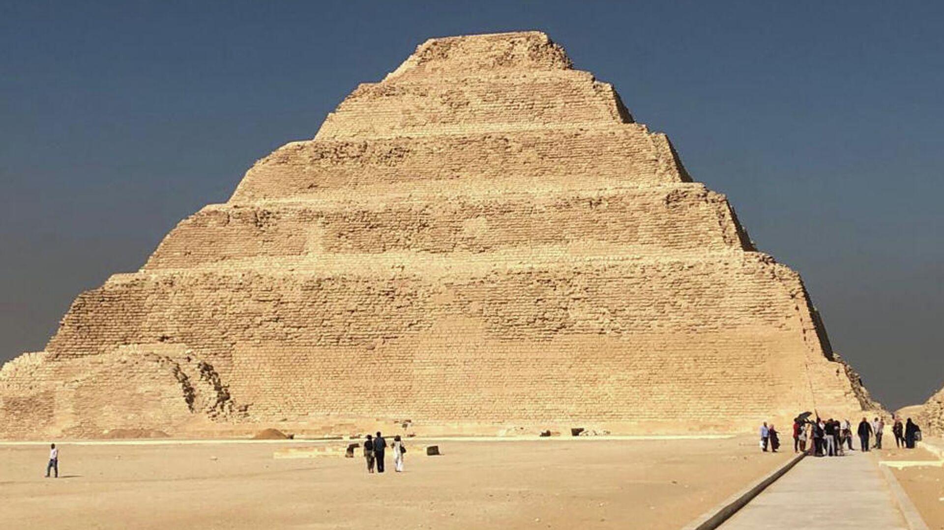 Пирамида Джосера в Каире, Египет - РИА Новости, 1920, 01.12.2020