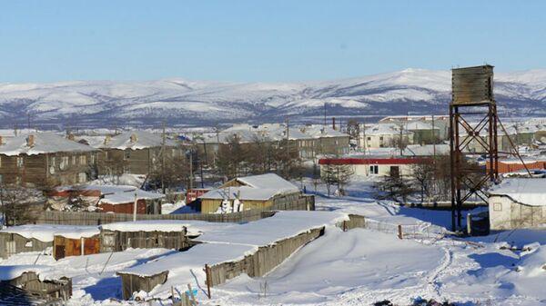 В прибрежных населенных пунктах Охотского района Хабаровского края объявлена ЧС из-за образрования мощного циклона