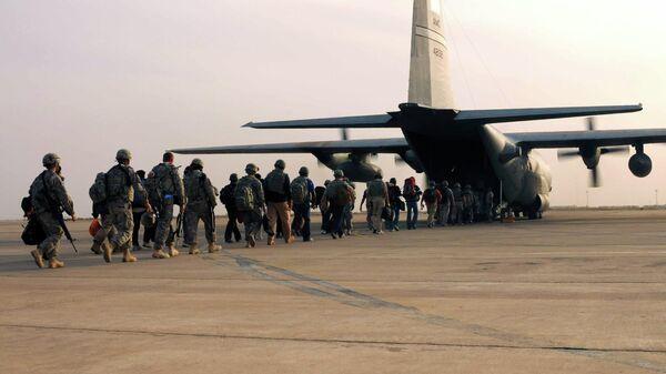 Американские военные покидают авиабазу Али в Ираке