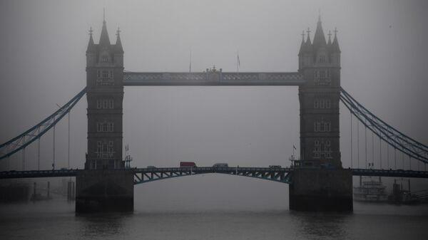 Вид на Тауэрский мост в Лондоне