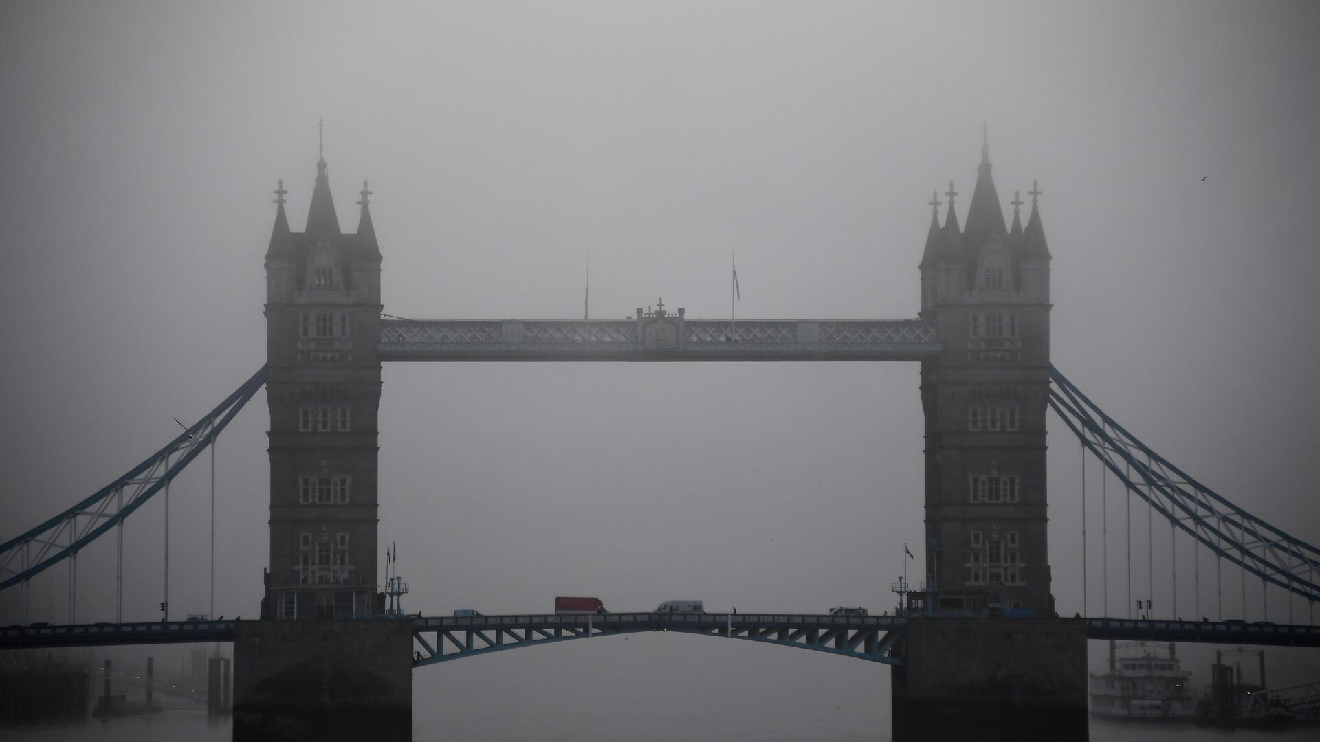 Вид на Тауэрский мост в Лондоне - РИА Новости, 1920, 17.01.2021