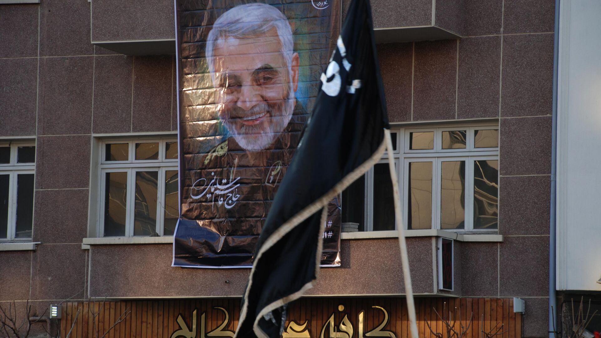 Прощание с Касемом Сулеймани в Тегеране. 6 января 2020 - РИА Новости, 1920, 31.12.2020