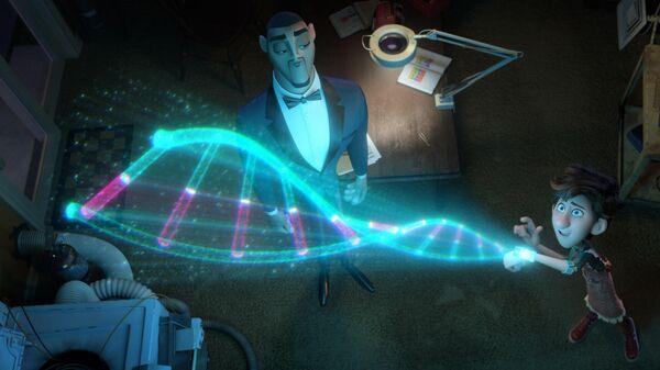 Кадр из мультфильма Камуфляж и шпионаж
