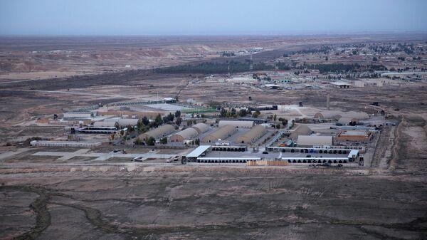 Американская военная авиабаза Айн Аль-Асад в Ираке
