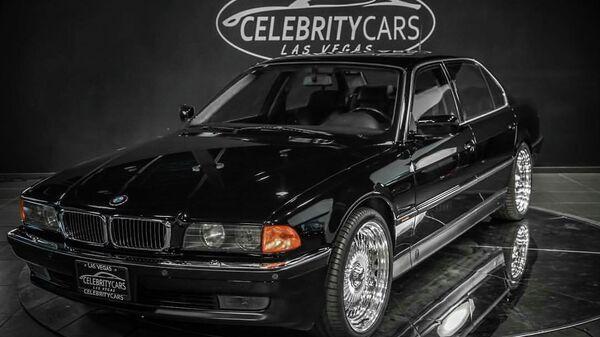 Автомобиль BMW 7 серии, в котором был застрелен Тупак Шакур