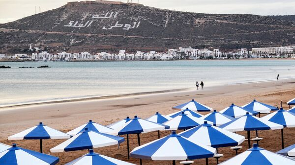 Пляж в Агадире