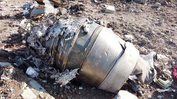 На месте крушения пассажирского лайнера Украины Boeing 737-800 неподалеку от тегеранского международного аэропорта имени Имама Хомейни 444