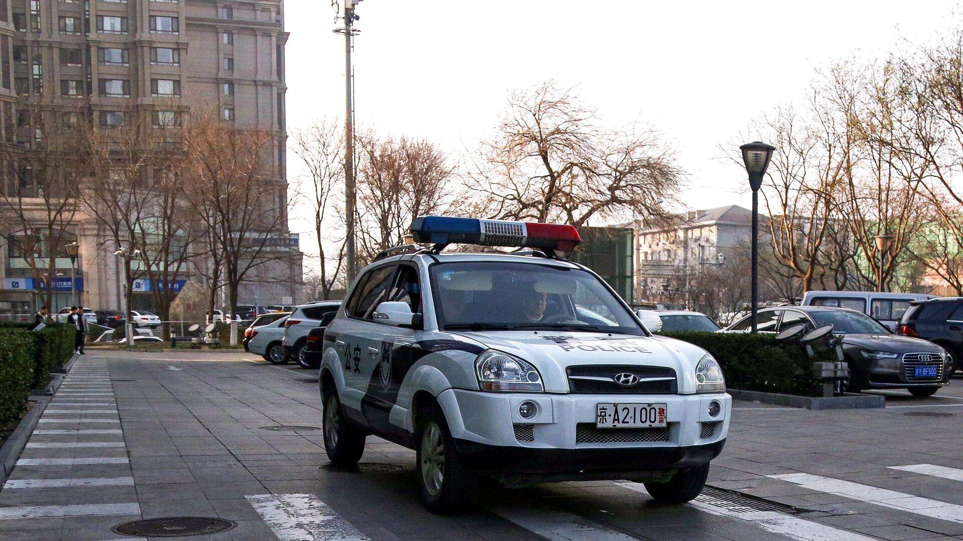 Патрульный автомобиль полиции Китая - РИА Новости, 1920, 11.12.2020