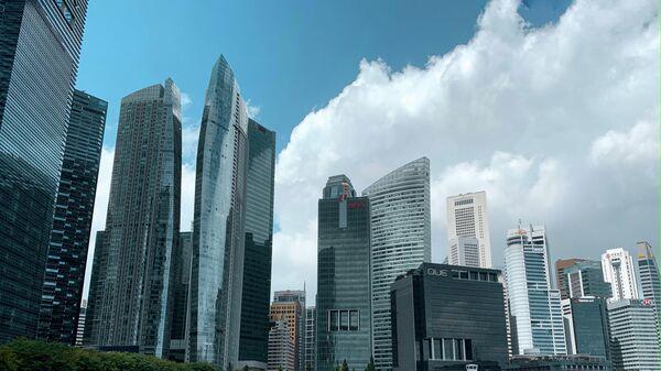 Сингапур, залив Марина-Бэй