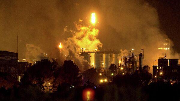 Взрыв на нефтехимическом заводе в провинции Таррагона