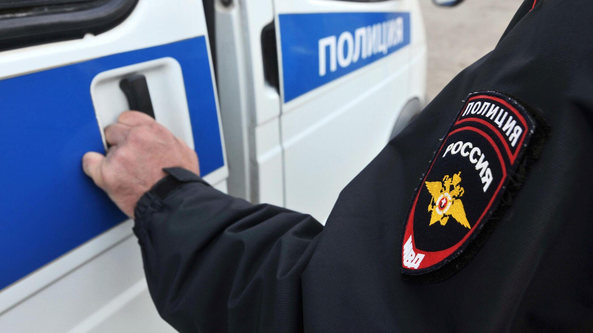 Сотрудник полиции - РИА Новости, 1920, 10.08.2020